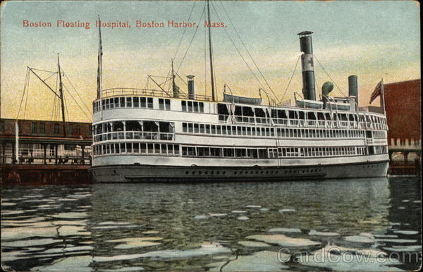 The Boston Floating Hospital Massachusetts