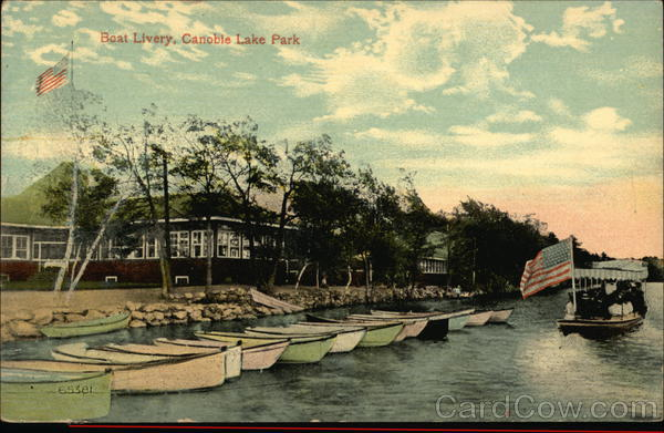 Boat Livery Canobie Lake Park New Hampshire