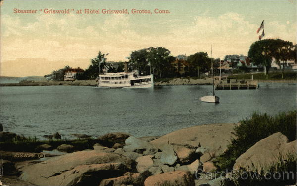 Steamer Griswold at Hotel Griswold Groton Connecticut