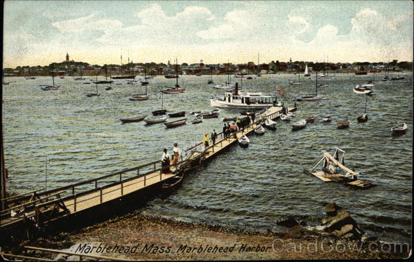 Marblehead Harbor and Pier Massachusetts