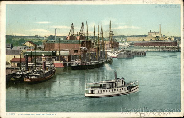 Coal Wharves Portsmouth New Hampshire