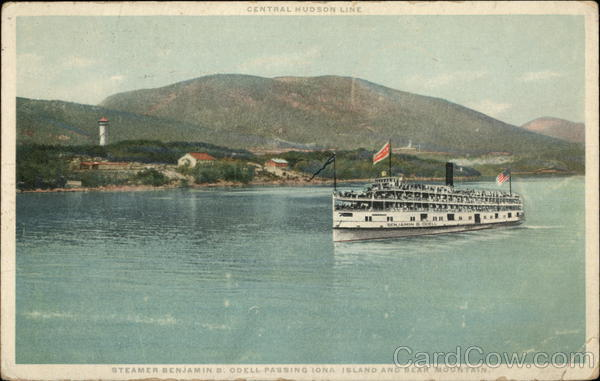 Steamer Benjamin ODell Iona Island New York Steamers