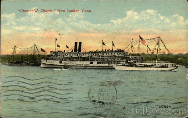 Chester W Chapin on the Water New London Connecticut