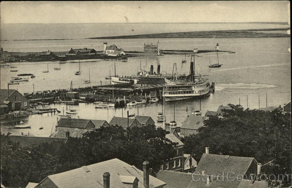 View of Harbor Boats, Ships