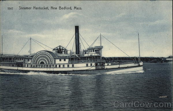Steamer Nantucket on the Water New Bedford Massachusetts