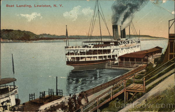 Boat Landing Lewiston New York
