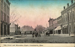 Oak Street and Milwalukee Depot