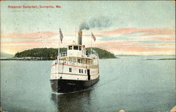 Steamer Samoset on the Water