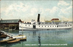Steamer Remaquid at Landing