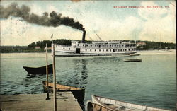 Steamer Pemaquid on the Water