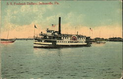 SS Frederick DeBary on the Water