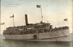 Steamer Dorothy Bradford on the Water