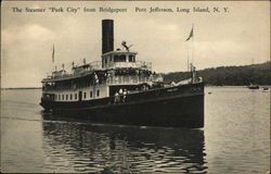 "The Steamer ""Park City"" From Bridgeport"