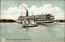 Steamer Toronto on the Water