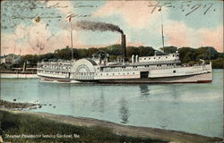 Steamer Penobscot on the Water