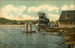 "Steamer ""Bay of Naples"" at Landing"