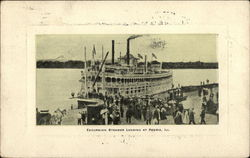 Excursion Steamer Landing