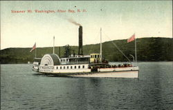 Steamer Mt Washington on the Water