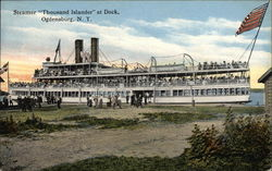 Steamer Thousand Islander at Dock