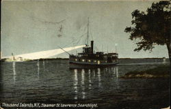 Steamer St Lawrence Searchlight
