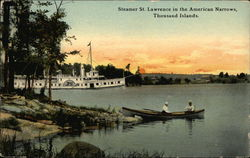 Steamer St. Lawrence in the American Narrows