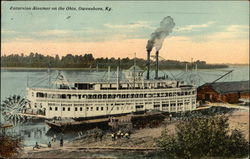 Excursion Steamer on the Ohio