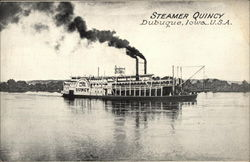 Steamer Quincy on the Water