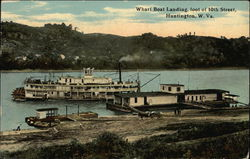 Wharf Boat Landing, foot of 10th Street