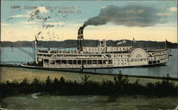 "Steamer ""City of Louisville"" on the Water"