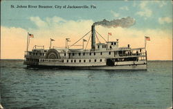 St. Johns River Steamer, City of Jacksonville