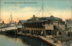 Steamer Petoskey at Dock