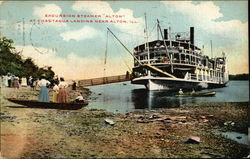 Excursion Steamer Alton at Chautauqua Landing