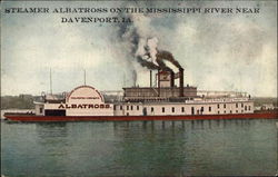 Steamer Albatross on the Mississippi River