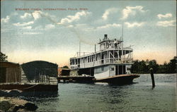 Steamer Itasca on the Water