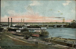 Hemburg Bridge and Steamboat Landing