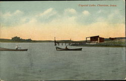 Boats on Crystal Lake