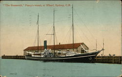 """The Roosevelt,"" Peary's Vessel, at Wharf"