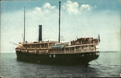 SS Mauna Kea on the Water