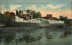"""Sheboygan"" in Winter Quarters"