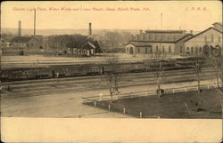 Electric Light Plant, Water Works and Union Pacific Shops