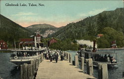 Glenbrook Lake Postcard