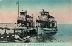 Docking at Arnold's Park