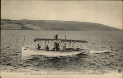 The Touladie on Lake Temisconata