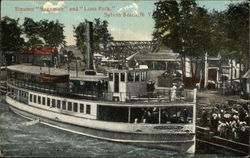 "Steamer ""Sagamore"" and ""Luna Park"""