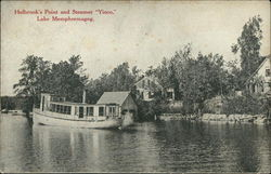 "Holbrook's Point and Steamer ""Yioco"""