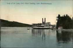 Lady of the Lake, Owl's Head Landing