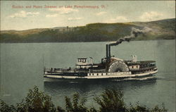 Boston and Maine Steamer
