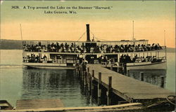 "A Trip around the Lake on the Steamer ""Harvard"""