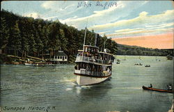 Boats in Sunapee Harbor