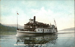 Steamer Idaho En Route to the St. Joe River